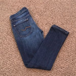 7 for All Mankind Roxanne ankle jeans!